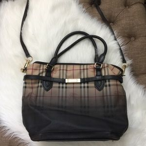Burberry ombré tote